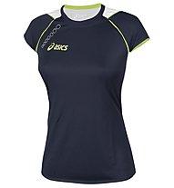 Asics Andromeda T-Shirt Lady, Navy