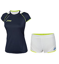 Asics Completo running donna Andromeda T-shirt + Aquila Shorts Lady.