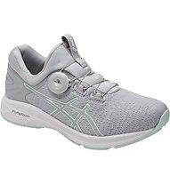 Asics Dynamis - Stabilitäts-Laufschuh - Damen, Grey/White