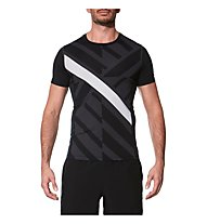 Asics Focus Top GPX - Fitness- und Trainingsshirt - Herren, Black/Grey