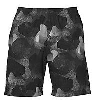 Asics FuzeX Print Short - kurze Trainingshose - Herren, Camo Black