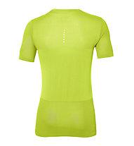 Asics FuzeX Seamless SS - Fitness Shirt - uomo, Green