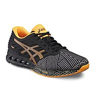 Asics FuzeX - scarpa running, Grey/Orange
