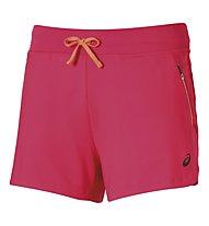 Asics I FuzeX Knit Laufshorts 4'' Damen, Light Red