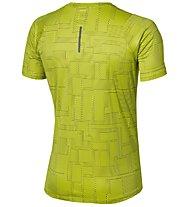 Asics FuzeX Printed Tee Runningshirt, Yellow