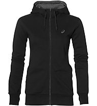 Asics Fz Knit Hoodie Giacca con cappuccio fitness donna, Black