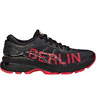 Asics GEL- Kayano 25 Berlin - scarpe running stabili - uomo, Black/Red