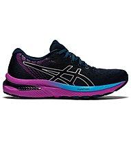 Asics Gel-Cumulus 22 - scarpe running neutre - donna, Dark Blue/Violet
