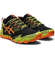 Asics Gel-Fuji Trabuco 8 - scarpe trail running - uomo, Yellow/Black