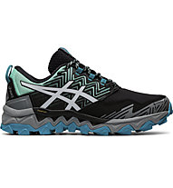 Asics GEL-FujiTrabuco 8 GTX - scarpe trail running - donna, Black/Grey/Blue