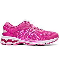 Asics Gel-Kayano 26 - scarpe running stabili - donna, Pink