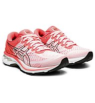 Asics Gel-Kayano 27 Tokyo - scarpe running stabili - donna, White/Red