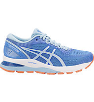 Asics GEL Nimbus 21 W - Laufschuh Neutral - Damen, Blue/Light Blue