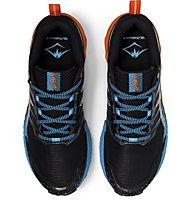 Asics GEL-Trabuco 9 - scarpe trail running - uomo, Black/Orange/Light Blue