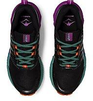Asics GEL-Trabuco 9 - scarpe trail running - donna, Black/Violet/Green