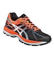 Asics GEL Cumulus 17 GS scarpa running bambino, Black/Orange