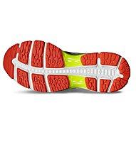 Asics Gel Cumulus 18 W - scarpa running donna, White/Yellow