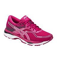 Asics GEL-Cumulus 19 W - scarpe running neutre - donna, Pink/White