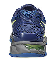 Asics GEL - Fuji Trabuco 4 W - Trailrunningschuh Damen, Blue/Green/Carbon