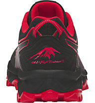 Asics Gel FujiTrabuco 7 - scarpe trail running - uomo, Black/Red