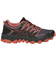 Asics Gel FujiTrabuco 7 W - scarpe trail running - donna, Black/Pink