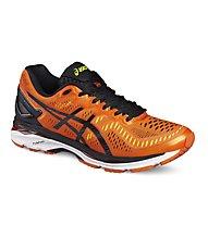 Asics Gel Kayano 23 - scarpa running, Orange/Black