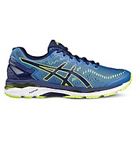 Asics GEL-Kayano 23 - scarpe running - uomo, Blue/Yellow