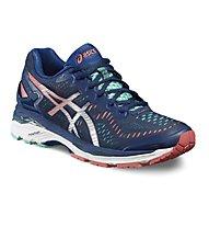 Asics Gel Kayano 23 W - scarpa running, Blue/Grey