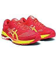 Asics Gel-Kayano 26 - scarpe running stabili - donna, Red