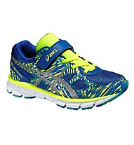 Asics GEL Lightpaly 2 PS scarpa ginnastica bambino, Blue/Yellow
