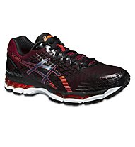 Asics Gel Nimbus 17, Black/Hot Orange