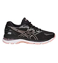 Asics Gel Nimbus 20 W - Neutral-Laufschuh - Damen, Black/Pink