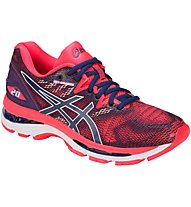 Asics GEL Nimbus 20 W - scarpe running neutre - donna, Blue/Red