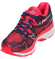 Asics Gel Nimbus 20 W - Neutral-Laufschuh - Damen, Blue/Red
