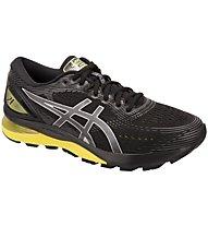 Asics GEL Nimbus 21 - scarpe running neutre - uomo, Black/Yellow