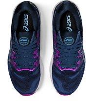 Asics Gel Nimbus 23 - scarpe running neutre - donna, Dark Blue/Violet
