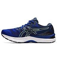 Asics Gel Nimbus 23 - scarpe running neutre - uomo, Blue/Yellow