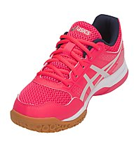 Asics Gel Rocket 8 W - Turnschuhe - Damen, Pink/Grey