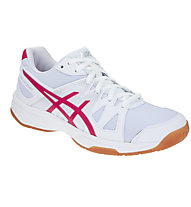 Asics Gel Upcourt - Scarpa da ginnastica pallavolo - donna, White/Red