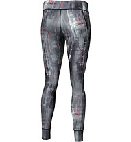Asics Graphic Tight 28In Pantaloni lunghi fitness donna, Grey