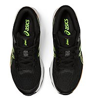 Asics GT-1000 9 GS - scarpe running stabili - bambino, Black/Green
