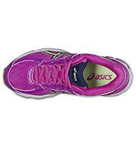 Asics GT 1000 4 GS scarpa running bambino, Pink/Green