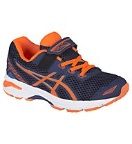 Asics GT 1000 5 PS Runningschuh Kinder, Blue/Orange