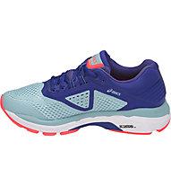 Asics GT 2000 6 W - scarpe running stabili - donna, Light Blue/Blue