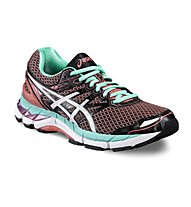 Asics GT 3000 4 W - scarpa running donna, Black/Turquoise
