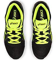 Asics Jolt 2 GS - scarpe da palestra - ragazzo/a, Black/Yellow
