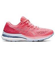 Asics Kayano 28 - scarpe running stabili - donna, Red/Grey