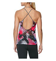 Asics Layering Tanktop - top fitness - donna, Shark Grey/Pink