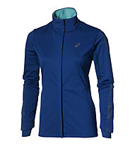 Asics Lite Show Winter Damen-Laufjacke, Blue