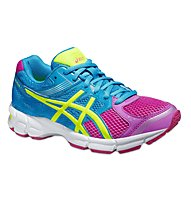 Asics Gel Pulse 7 GS scarpa running bambina, Pink/Yellow